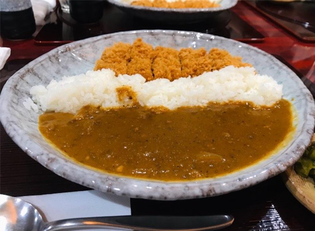 蒲田駅西口 とん清 カツカレー