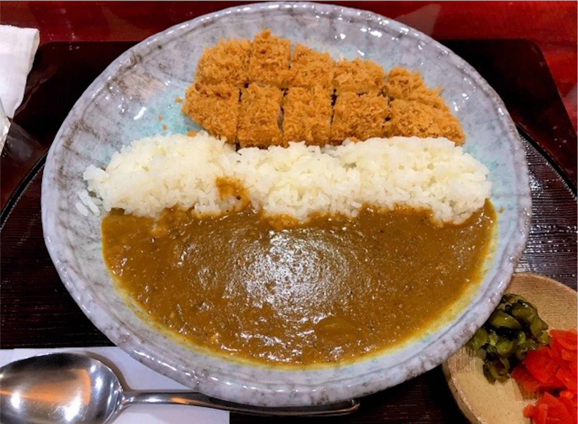 蒲田西口 とん清 カツカレー 食べてみた