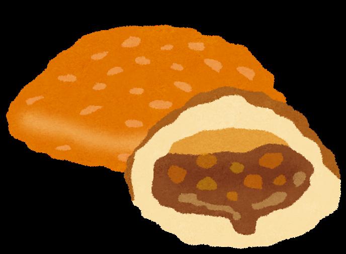 一条もんこ絶賛のカレーパン