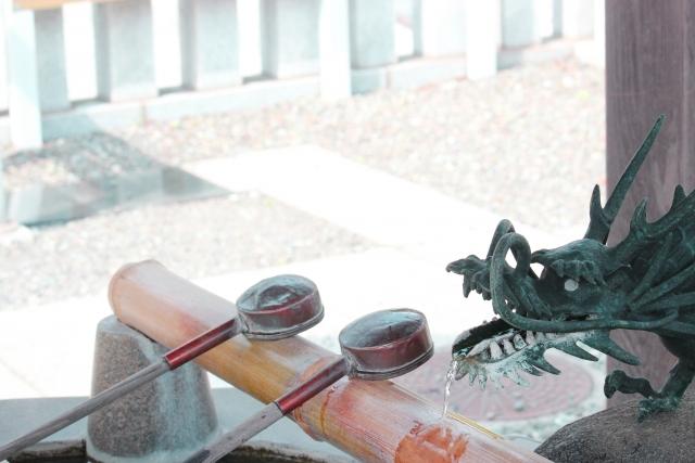 川越熊野神社 手相